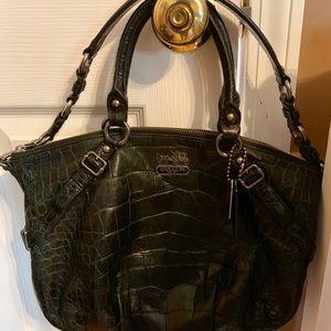 Coach Bags - Authentic Coach Alligator Print Purse